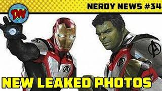 Stan Lee Passed Away, Avengers 4 New Leaks, Aquaman, Eternals   Nerdy News #34