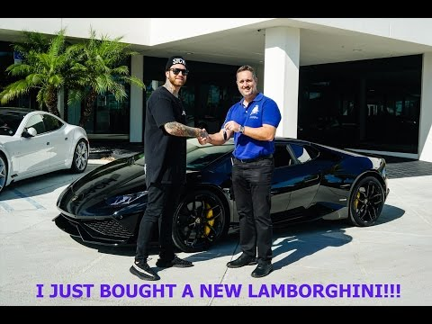 I JUST BOUGHT A LAMBORGHINI HURACAN!!!!