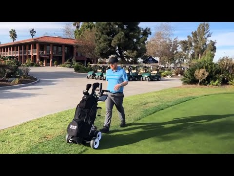 Electric Golf Caddy | Motorized Golf Push Cart | QOD GOLF