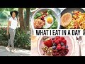 REALISTIC WHAT I EAT IN A DAY | EASY HEALTHY RECIPES THAT ACTUALLY TASTE GOOD!