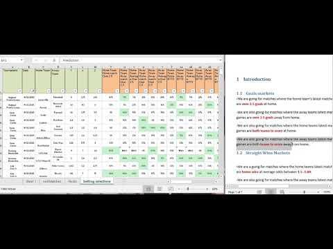 sports betting strategy spreadsheet tutorial
