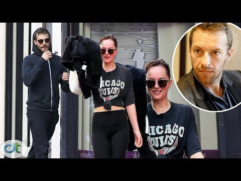 Dakota Johnson Was More Careful When Dating Jamie Dornan After Being Spotted By Chris Martin