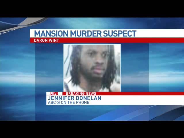 BREAKING NEWS: Quadruple murder suspect Daron Wint in DC police custody