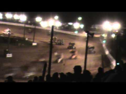 Path Valley Speedway 410 Sprint Car Highlights 4-26-15