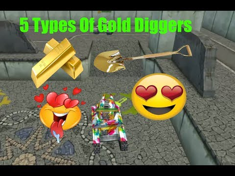 Tanki online 5 Types of Gold Diggers