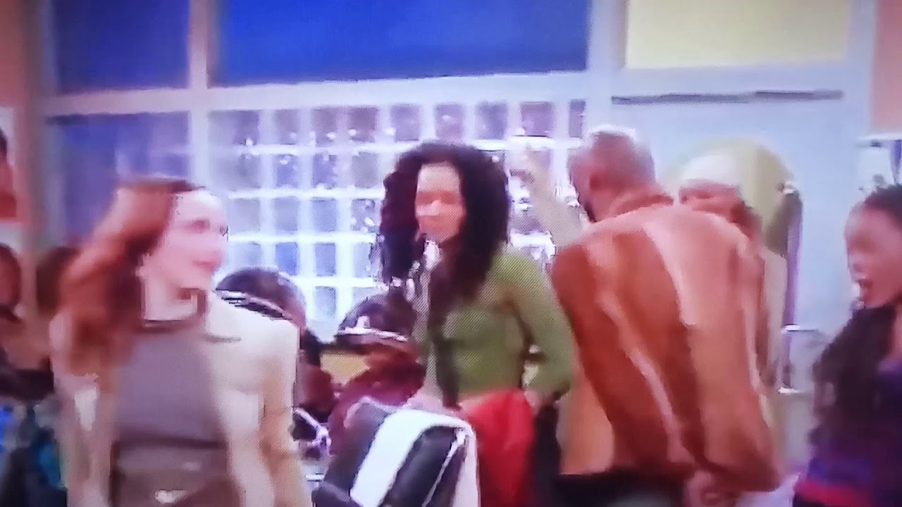 Girlfriends (Tv Show) - Lynn's Sister Says The N Word