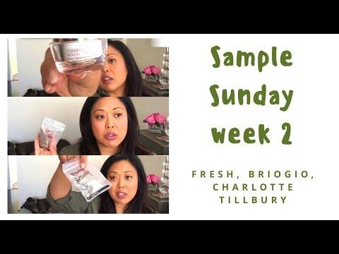 Sample Sunday week 2: Fenty Beauty, Charlotte Tillbury, Briogio, Fresh Beauty
