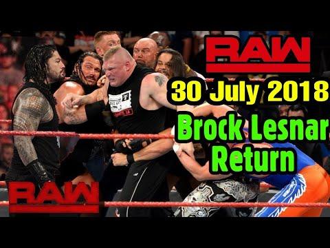 WWE Monday Night Raw : 30 July 2018 Highlights Preview #Wrestlinghindikhabar