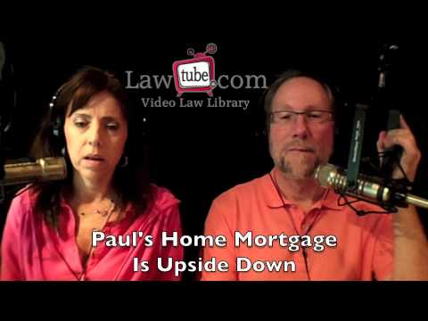 Paul's home mortgage is upside down
