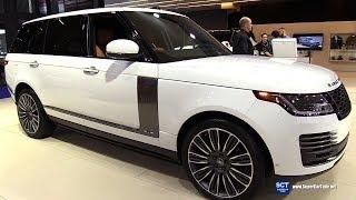 2019 Range Rover Autobiography - Exterior and Interior Walkaround - 2019 Montreal Auto Show