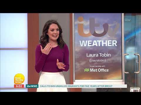 Eamonn Holmes returns to ITV Breakfast (GMB) - 10/4/17