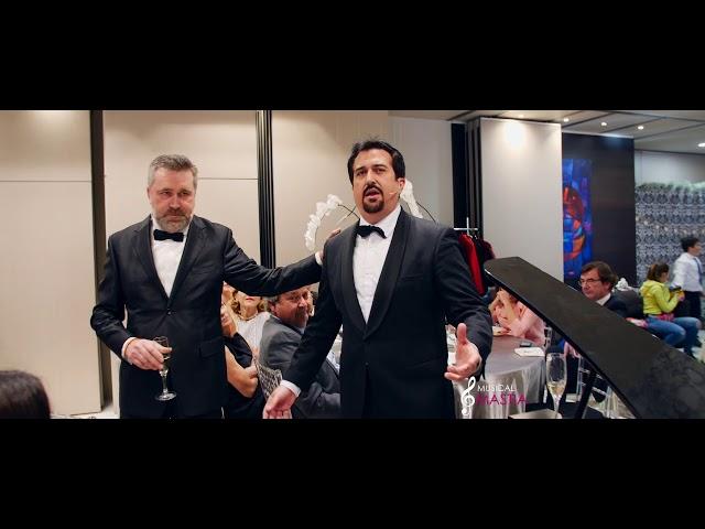 3 Tenores - Por Ti Volare Bocelli Hotel 7 coronas Bodas Murcia Wedding