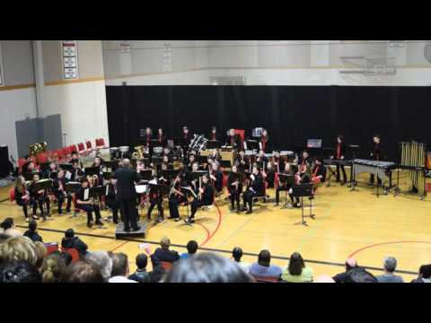Redmond Middle School - Symphonic Band (To Challenge the Sky & Heavens Above)