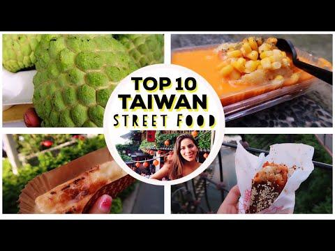 TAIWAN: MOST POPULAR STREET FOOD | Top 10