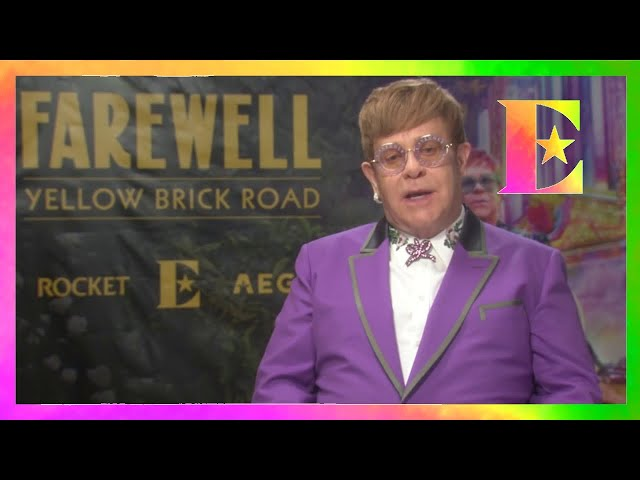 Elton John - A Special Fan Message