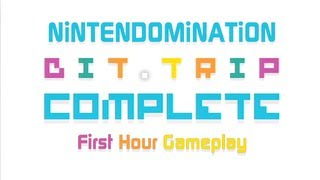 BiT.Trip Complete - First hour Gameplay - Wii Version