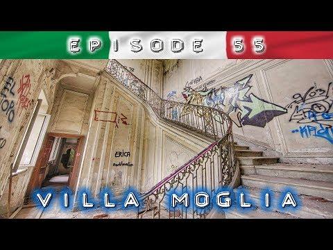Villa Moglia: VANDALISMUS und SATANISMUS in einer Spinnerei & Adelsresidenz aus dem 17. Jahrhundert