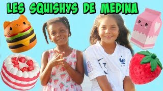 PRESENTATION DES SQUISHYS DE MEDINA ,Learn colors with squishy toys