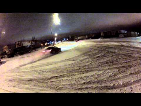Boxing day drift, Regina, Saskatchewan, 2013 Raw Footage