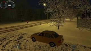 Скачать Обзор Симулятора Вождения Авто 3D Инструктор Зима 100 Новых Машин Let S Play на Симуляторы