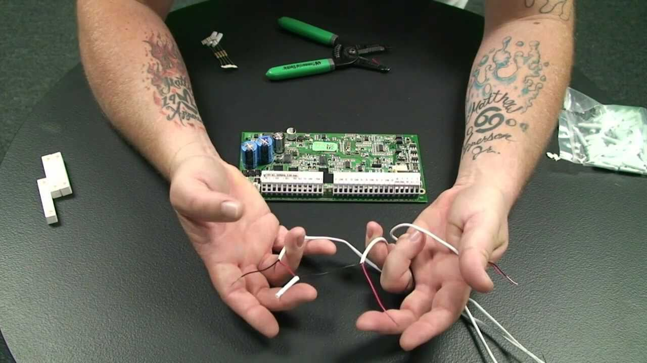 how to wire a series circuit using contacts home security store [ 1280 x 720 Pixel ]