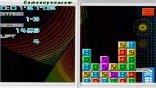 Planet Puzzle League Single Player Mode Stage 1