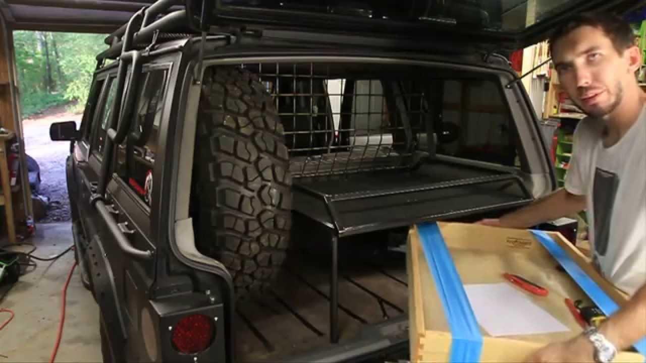 Zombie Jeep Rear Storage Shelf Part 2 Of 2 Youtube