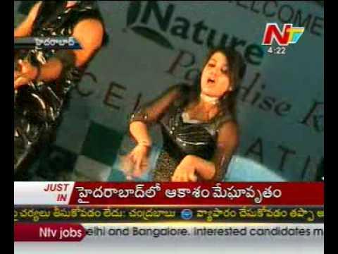 Actress Archana Dance at Nature Paradise Resort Celebrations