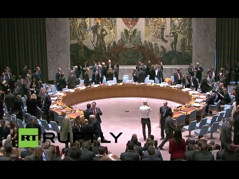 LIVE: UN Security Council to discuss Syria peace process resolution