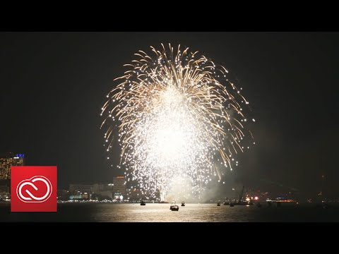 Adobe Stock 4K Video: Pattaya International Fireworks  | Adobe Creative Cloud