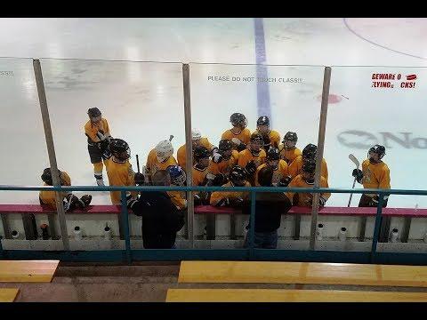Hatfield Ice Hawks vs   Grundy Grizzlies 09 17 2017