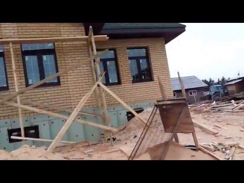 Одноэтажные дом из кирпича Кирпичный стандарт 270