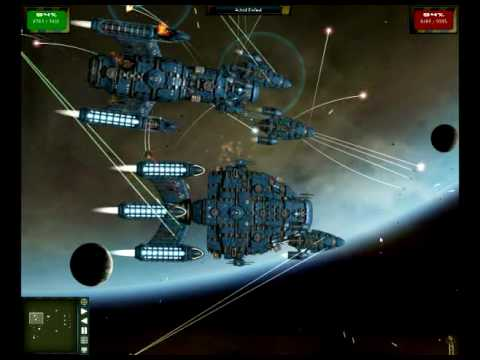 Gratuitous Space Battles Gameplay