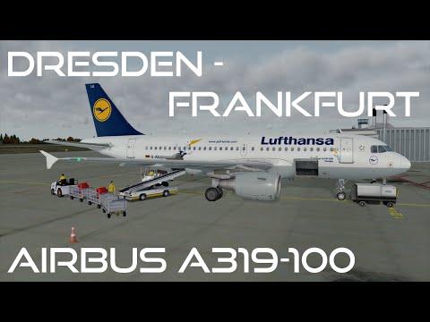 [Prepar3D v3/IVAO] Dresden-Frankfurt   DLH 215   Airbus A319-100