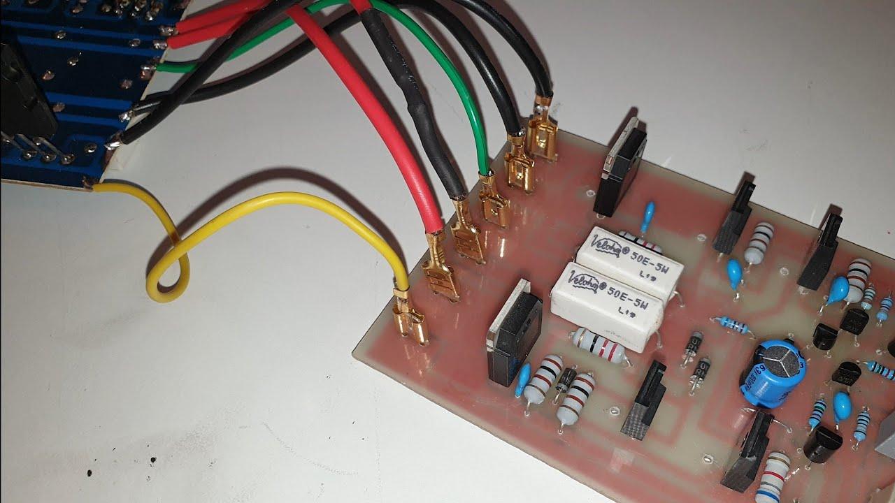 Driver Board ● Driver Board Wiring ●  Driver Board Ke connection Kaise Kre ● NPN ● PNP ● Amplifier