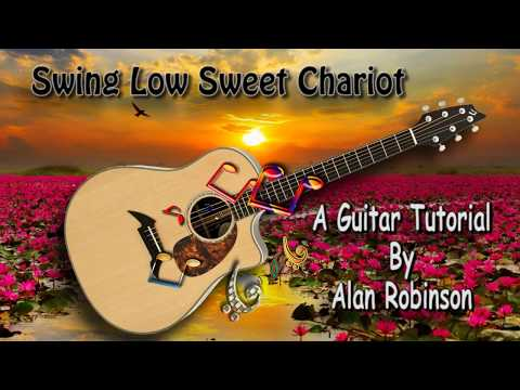 Swing Low Sweet Chariot - Acoustic Guitar Lesson (easy)