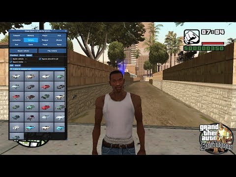 GTA Sa Cheat Menu 1.6 | GTA San Andreas Cheat Codes | Cheat For Gta San Andreas Download