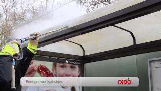 Hogedrukreiniging met de DiBO JMB-M trailer met OPTIONELE STOOMFUNCTIE