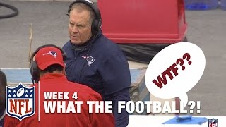 3 Worst Plays (Week 4) | WTF: What The Football?! | NFL Now