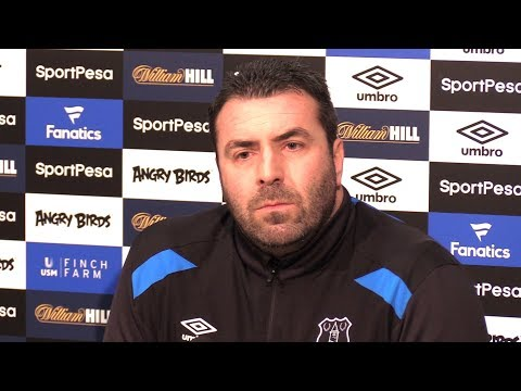 David Unsworth Full Pre-Match Press Conference - Everton v West Ham - Premier League