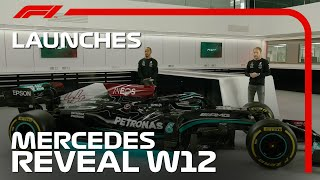 Lewis Hamilton and Valtteri Bottas Unleash the Mercedes W12!