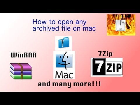 How to open WinRAR or 7Zip on Mac  iZIP  No internet