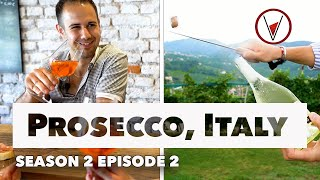 Learn Sparkling Wine, Food & Culture In Prosecco, Italy – V Is For Vino Wine Show  Episode 202