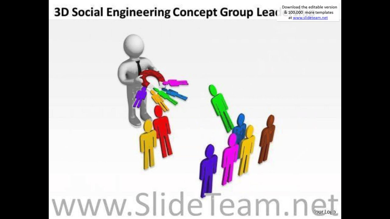 Top business people 3d social engineering concept group leadership top business people 3d social engineering concept group leadership powerpoint templates presentation alramifo Images