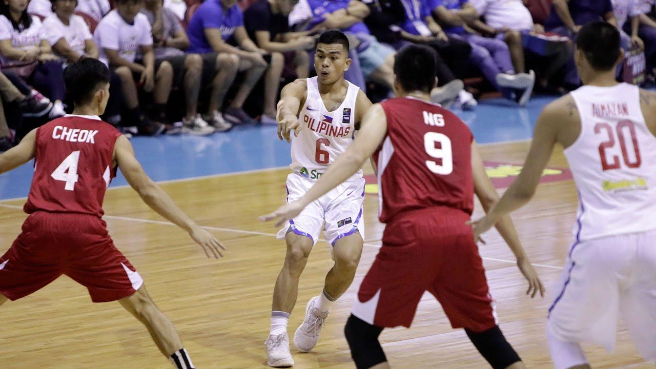 Highlights: Philippines vs. Singapore | SEABA 2017 - YouTube