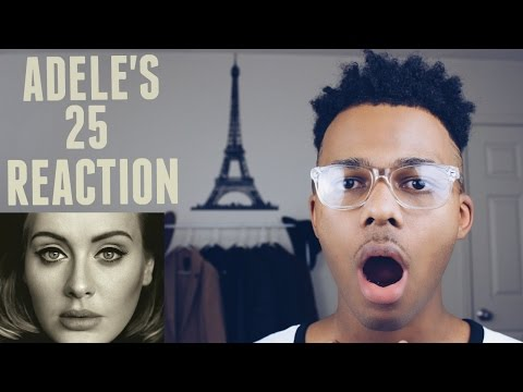 Adele 25 (Full Album) Reaction