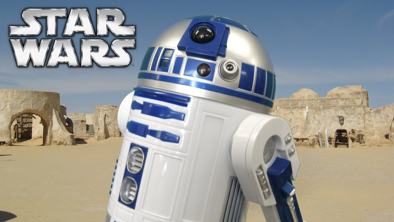 Star Wars Wallpaper Pc Hd Star Wars R2 D2 Interactive Robotic Droid From Thinkway