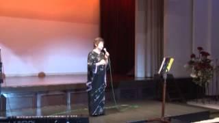 2012浜崎むつみ「私の歌の部屋」音楽教室 発表会 3年前に大病で手術 し...