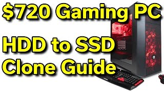 CyberPowerPC - $720 - i5-7400 | HDD to SSD Clone | How-To Guide thumbnail