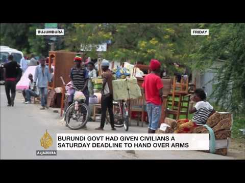 Burundians flee capital in run-up to crackdown